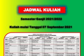 Jadwal Kuliah Ganjil 2021
